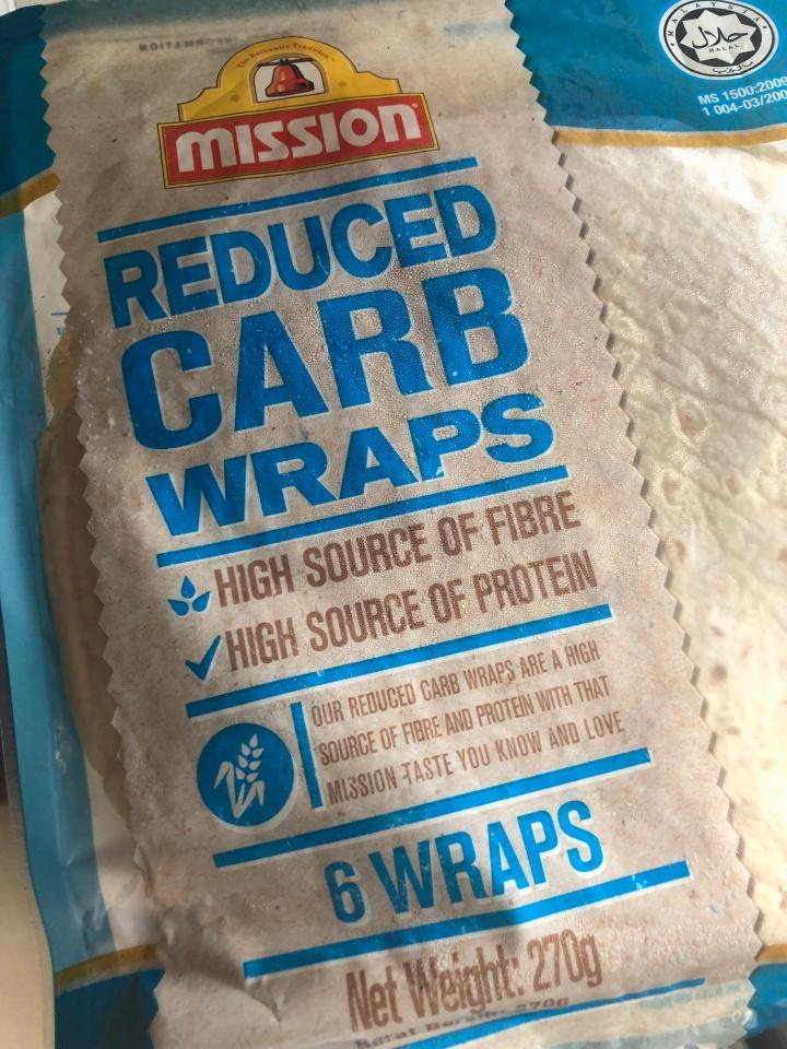 Low Carbs Chicken WrapRecipe