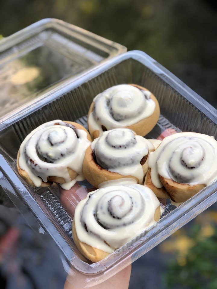 Rolls Bun Recipe with CreamCheese