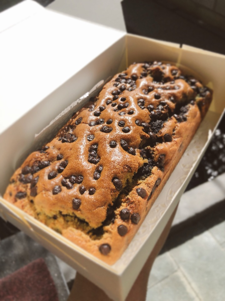 Low Carbs Blueberry Chocolate Chips Cake BreadRecipe