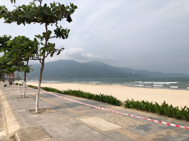Da Nang, Vietnam Beach During Quarantine